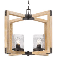 Eastwood 4 Light 26 inch Rustic Bronze Chandelier Ceiling Light