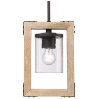 Eastwood 1 Light 9 inch Rustic Bronze Mini Pendant Ceiling Light