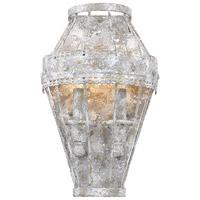 Golden Lighting 7856-WSC OY Ferris 2 Light 7 inch Oyster Wall Sconce Wall Light