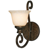 Golden Lighting 8063-1W-BUS Heartwood 1 Light 7 inch Burnt Sienna Wall Sconce Wall Light