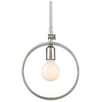 Golden Lighting 8330-M1L-PW Sloane 1 Light 10 inch Pewter Mini Pendant Ceiling Light
