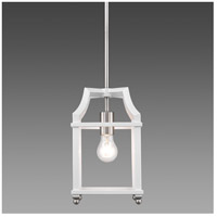 Leighton 1 Light 7 inch Pewter Mini Pendant Ceiling Light