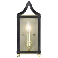 Leighton 1 Light 6 inch Satin Brass Wall Sconce Wall Light