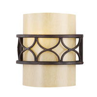 Golden Lighting Cercado 1 Light Sconce in Corsini Bronze 9018-1W-COB alternative photo thumbnail