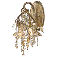Golden Lighting Autumn Twilight 3 Light Wall Sconce in Mystic Gold 9903-WSC-MG