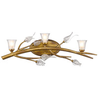 Golden Aiyana 3 Light Bath Fixture in Gold Leaf 9942-BA3-GL