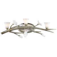 Golden Aiyana 3 Light Bath Fixture in Silver Leaf 9942-BA3-SL