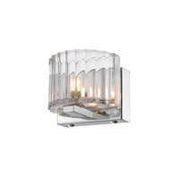 Golden Lightings Iberlamp Clara 1 Light Sconce in Chrome C156-01-CH