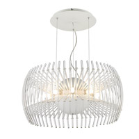 Golden Lighting Terra 17 Light Pendant Chandelier in Chrome C180-L-WH