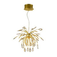 Golden Lightings Iberlamp Palm 16 Light Chandelier in Gold Satin C304-16-GS