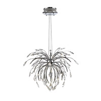 Golden Lightings Iberlamp Palm 25 Light Chandelier in Chrome C304-25-CH