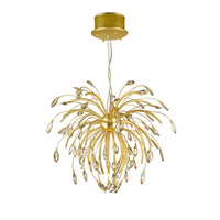 Golden Lightings Iberlamp Palm 25 Light Chandelier in Gold Satin C304-25-GS