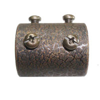Golden Mayfair Fan Coupler in Leather Crackle FANROD-CPLR-LC photo thumbnail
