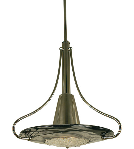 Framburg 1093mb Gl Brocatto 1 Light 14 Inch Mahogany Bronze With Gold Leaf Shade Pendant Ceiling