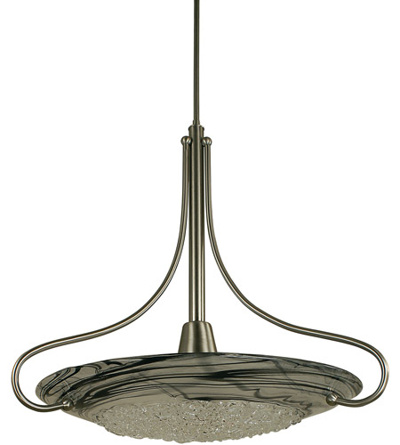 Framburg 1099mb Gl Brocatto 1 Light 27 Inch Mahogany Bronze Pendant Ceiling In Gold Leaf