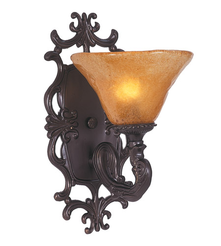 HA Framburg Centennial 1 Light Bath Light in Mahogany Bronze 1501MB photo