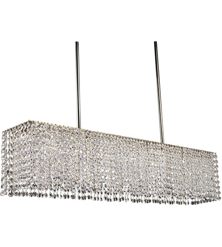 Framburg 2048PS Princessa 4 Light 33 inch Polished Silver Island Chandelier Ceiling Light photo