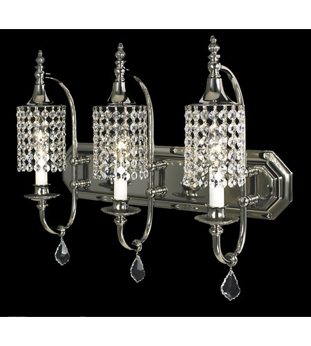 Framburg 2049PS Princessa 3 Light 21 inch Polished Silver Dining Chandelier Ceiling Light photo