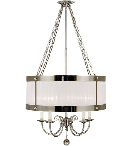 Framburg 2174PS Astor 4 Light 16 inch Polished Silver Dining Chandelier Ceiling Light photo