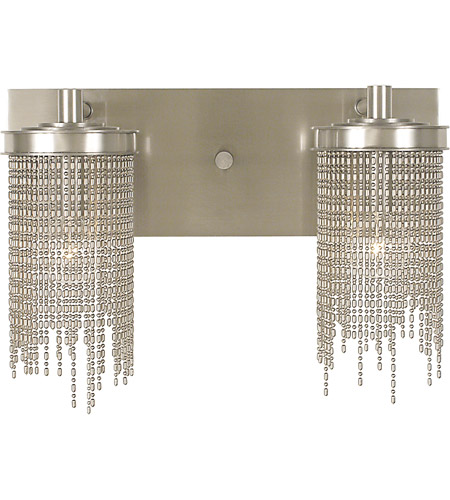 HA Framburg 2292PS Arabesque 2 Light 16 inch Polished Silver Bath and Sconce Wall Light photo