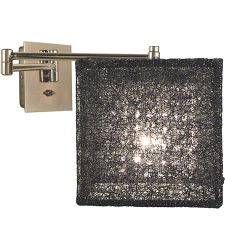 HA Framburg Chloe 1 Light Bath and Sconces in Polished Silver/Champagne Mesh 2329PS/CM photo