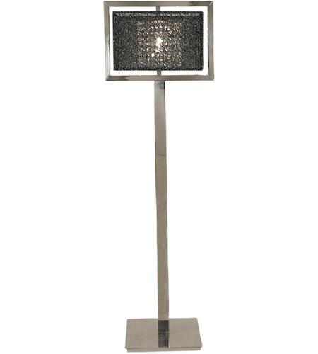 Framburg 2337ps bm chloe 62 inch 150 watt polished silver for 150 watt floor lamp