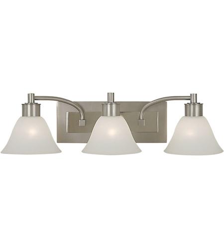 Hinkley Lighting Mercer: Framburg 2353SP/PN Mercer 3 Light 25 Inch Satin Pewter
