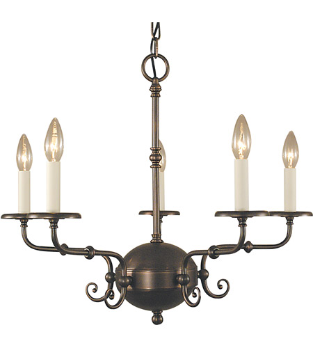 Framburg 2375SBR Jamestown 5 Light 26 inch Siena Bronze Dining Chandelier Ceiling Light in Sienna Bronze photo