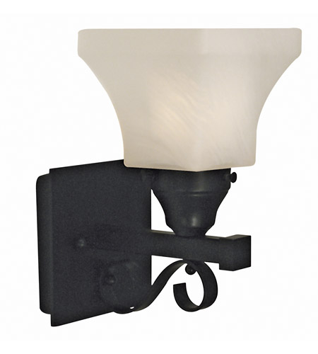 HA Framburg 2891MBLACK Taylor 1 Light 7 inch Matte Black Bath and Sconce Wall Light photo
