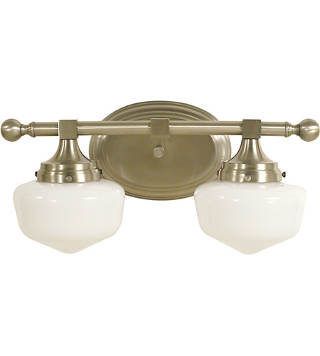 HA Framburg 2938BN Taylor 2 Light 17 inch Brushed Nickel Bath and Sconce Wall Light photo