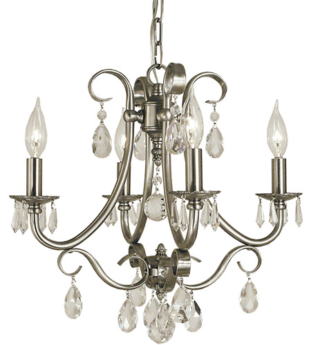 Framburg 2994bn liebestraum 4 light 17 inch brushed nickel mini framburg 2994bn liebestraum 4 light 17 inch brushed nickel mini chandelier ceiling light photo aloadofball Image collections