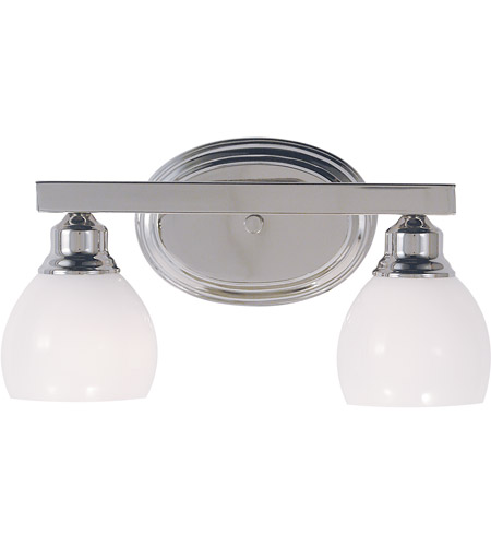 Framburg 3012PS Belmont 2 Light 16 inch Polished Silver Sconce Wall Light photo