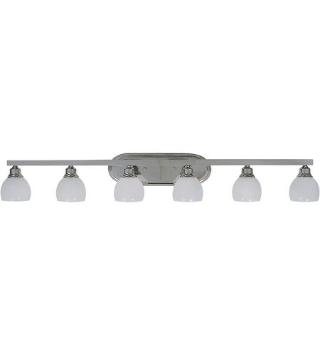 Framburg 3016PS Belmont 6 Light 53 inch Polished Silver Sconce Wall Light photo