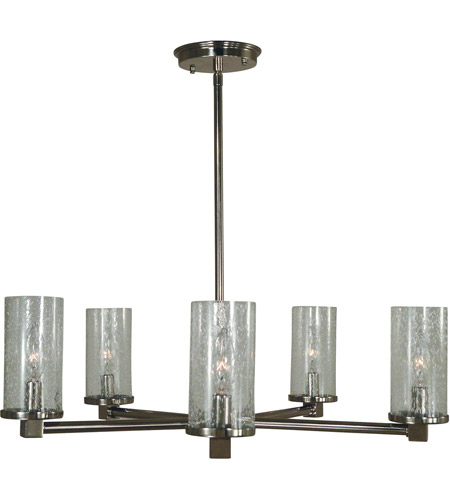 Framburg Polished Nickel Chandeliers