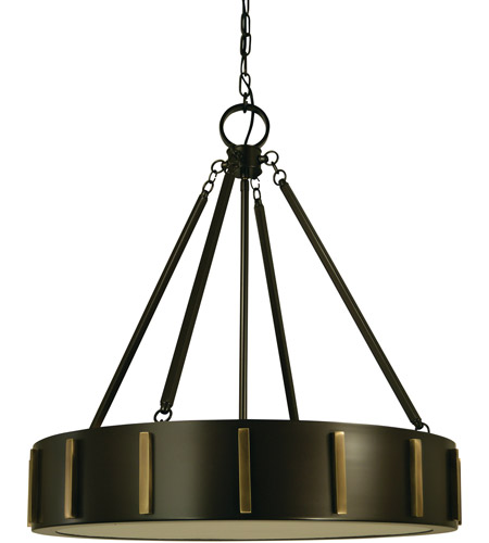 Framburg 4594mb Ab Pantheon 4 Light 23 Inch Mahogany Bronze With Antique Br Pendant Ceiling