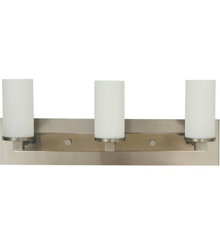 Hinkley Lighting Mercer: Mercer 3 Light 24 Inch Satin Pewter/Polished Nickel Sconce