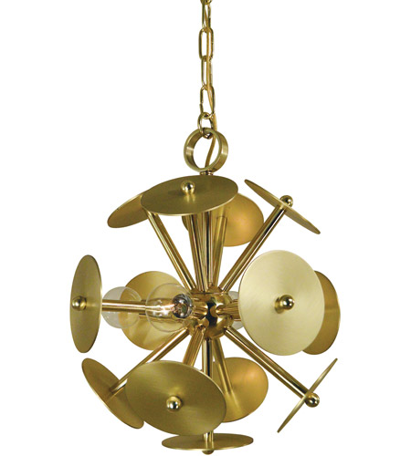 Brass Mini Chandeliers