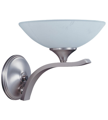 HA Framburg 8801SP/PN Solstice 1 Light 11 inch Satin Pewter/Polished Nickel Bath Light Wall Light photo