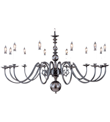 HA Framburg Jamestown 12 Light Foyer Chandelier in Mahogany Bronze 9142MB photo