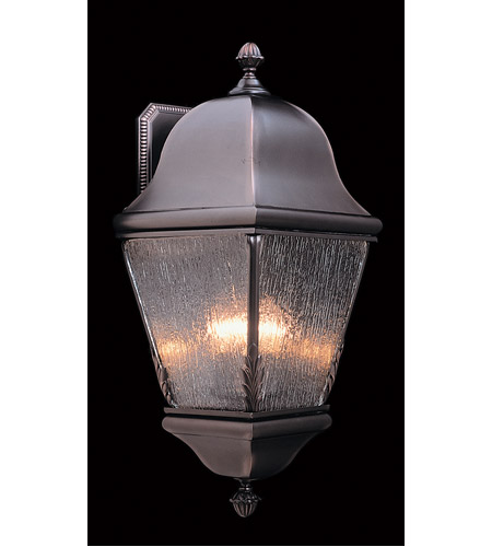HA Framburg Coeur de Lion 3 Light Exterior in Siena Bronze 9590SBR photo