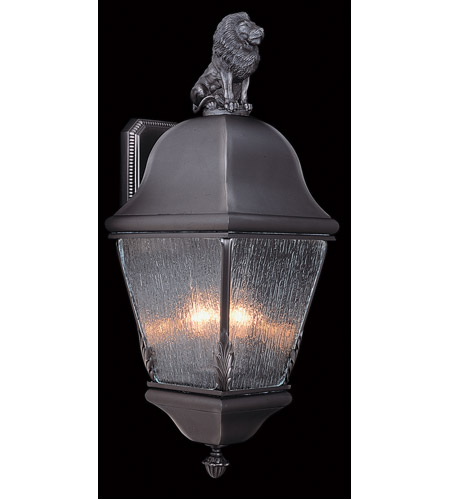 HA Framburg 9610IRON Coeur de Lion 3 Light 10 inch Iron Exterior photo