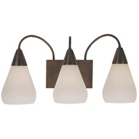 HA Framburg Maisonette 3 Light Bath Light in Roman Bronze 1003RB