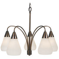 HA Framburg Maisonette 5 Light Chandelier in Roman Bronze 1005RB