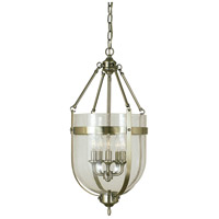 HA Framburg Sophia 5 Light Dining Chandeliers in Polished Silver w/ Ebony Accents 1015PS/EB