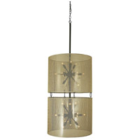 HA Framburg Simone 24 Light Foyer Chandelier in Mahogany Bronze 1022MB