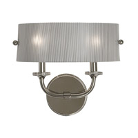 HA Framburg River North 2 Light Bath Light in Polished Silver 1042PS