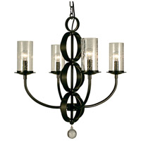 HA Framburg Compass 4 Light Dining Chandelier in Mahogany Bronze 1044MB