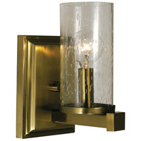 HA Framburg Compass 1 Light Sconce in Brushed Bronze 1111BB