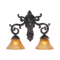 HA Framburg Palazzo 2 Light Bath and Sconces in Mahogany Bronze 1122MB
