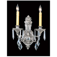 HA Framburg Czarina 2 Light Bath Light in Polished Silver 1142PS